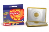 CD-R disk 50Mb Digitex E-Card 24-х (10шт/уп) арт.