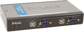 Переключатель D-Link DKVM-4U 4-port+4USB KVM Switch арт.