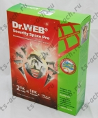 Антивирус Dr.Web Security Space K3 на 2 ПК, 1 год, BOX арт. BHW-B-12M-2A3