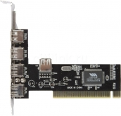 Контроллер USB 2.0 4+1 Card PCI Via 6212 арт.