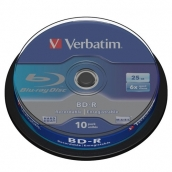 BD-R Verbatim 25Gb 6x CakeBox (10шт/уп) арт.