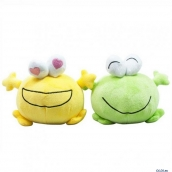 Колонки CBR MF-600 Dapper Frogs, 2x2W, плюш. сувенир, USB арт. MF-600